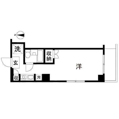 メインステージ西国分寺壱番館201号室