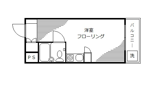 レジデンス蒲田間取り図