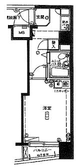 ガーラ武蔵小杉間取