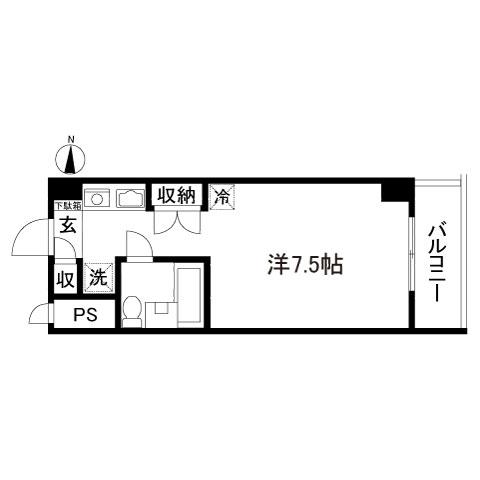 フェニックス国分寺203号室