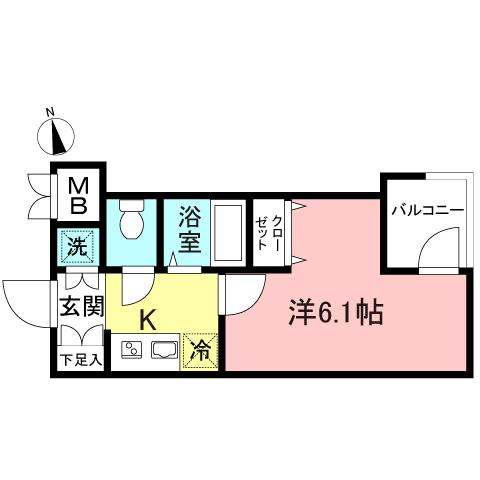 ガリシア早稲田102号室