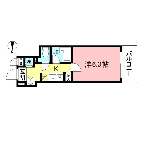 菱和パレス早稲田参番館402号室