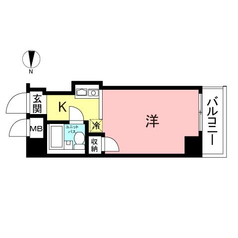 メインステージ新丸子駅前604号室
