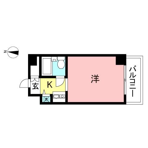 ヒルトップ横浜205号室