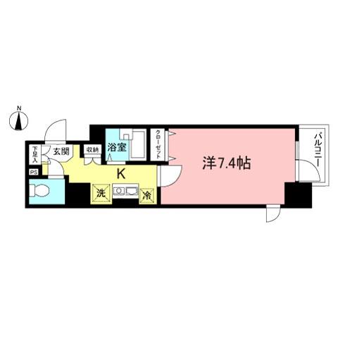 メインステージ日本橋箱崎Ⅱ706号室